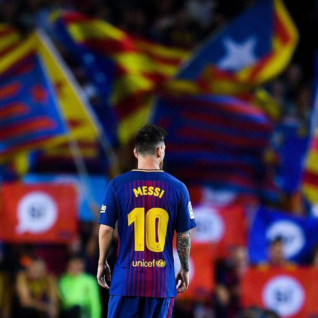 Klub Divisi 2 Liga Spanyol Tantang Messi Bikin Gol