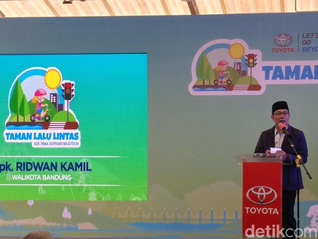 Taman Lalu Lintas Ternyata Tempat Bolos Ridwan Kamil Saat SMP