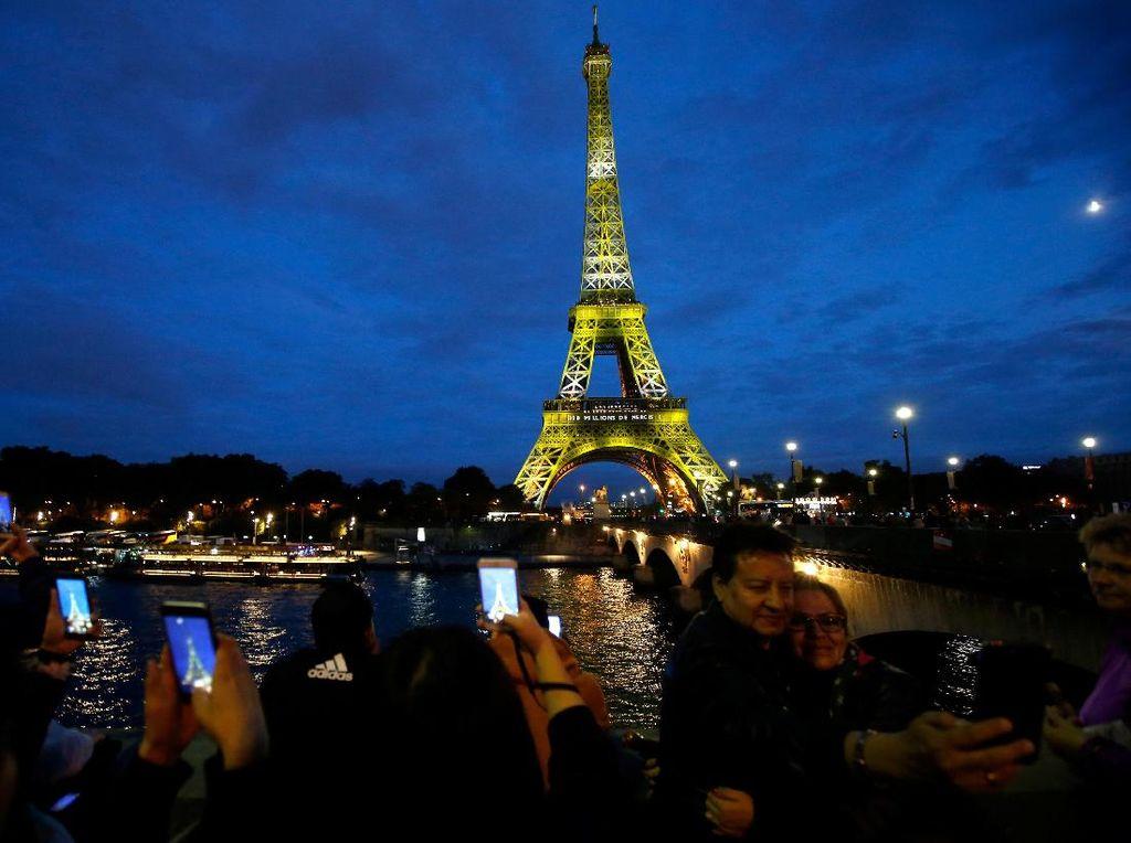 Video: Menara Eiffel Gelar Pesta untuk Rayakan 300 Juta Pengunjung
