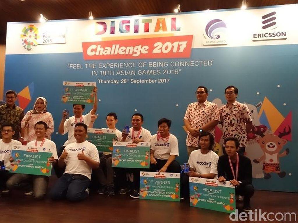 Digital Challenge 2017, Cara Developer Dukung Asian Games 2018