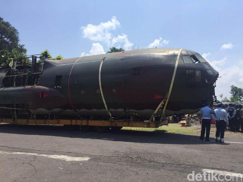 Pesawat Hercules Jadi Koleksi Baru Museum Pusat TNI AU