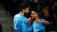 Ada Walcott di Balik Gol ke-100 Giroud untuk Arsenal