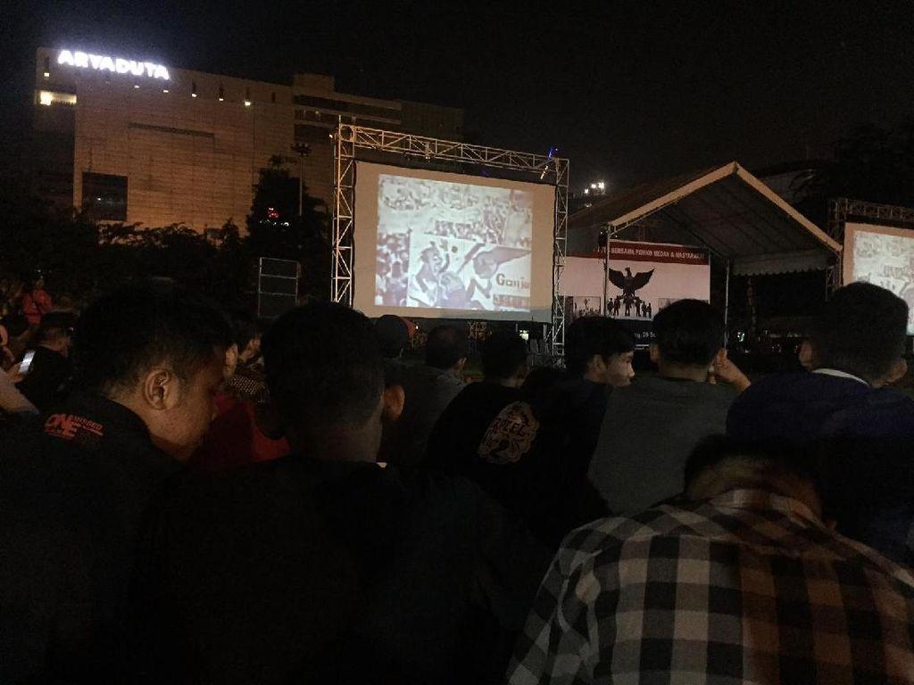 Ribuan Masyarakat Kota Medan Hadiri Nonton Bareng G30S/PKI
