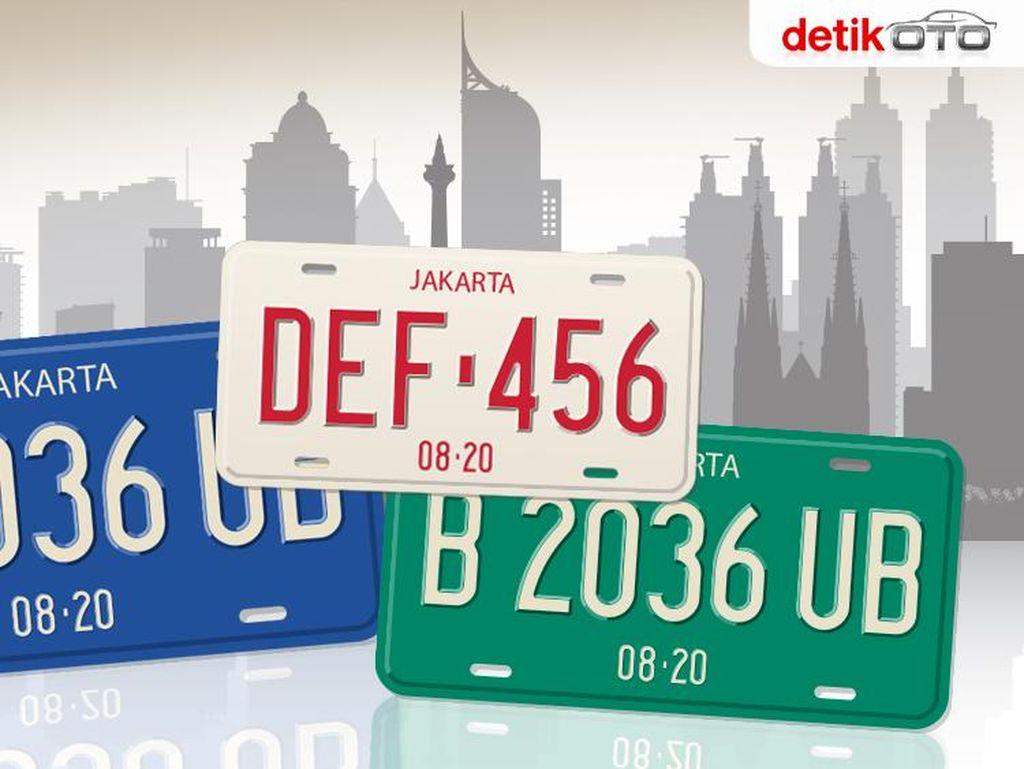 Banyak yang Belum Tahu, Ini Arti Angka dan Kode Pelat Nomor Kendaraan CD dan CC