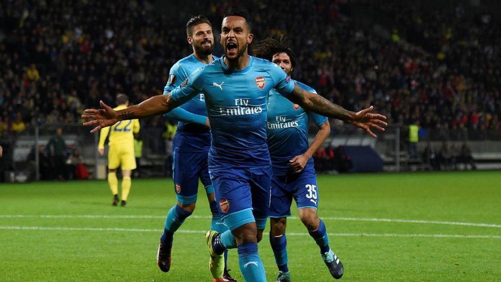 Kalahkan BATE Borisov, Arsenal Kokoh di Puncak Klasemen
