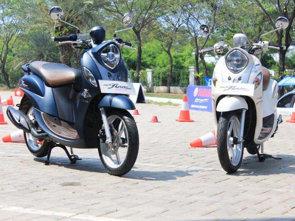 Yamaha Fino Baru, Pakai Ban Lebih Lebar dan Tubeless