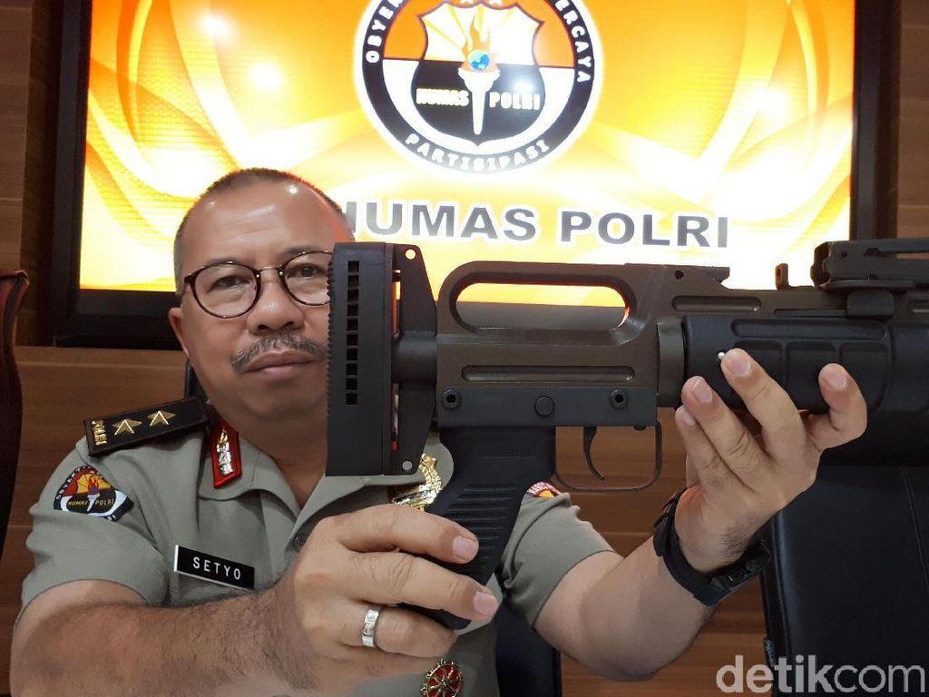 TNI: Amunisi SAGL yang Dibeli Brimob Tajam dan Mematikan