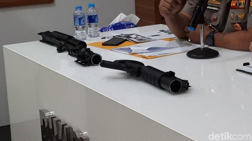 Ini Penampakan Senjata Pelontar Granat yang Diimpor Polri