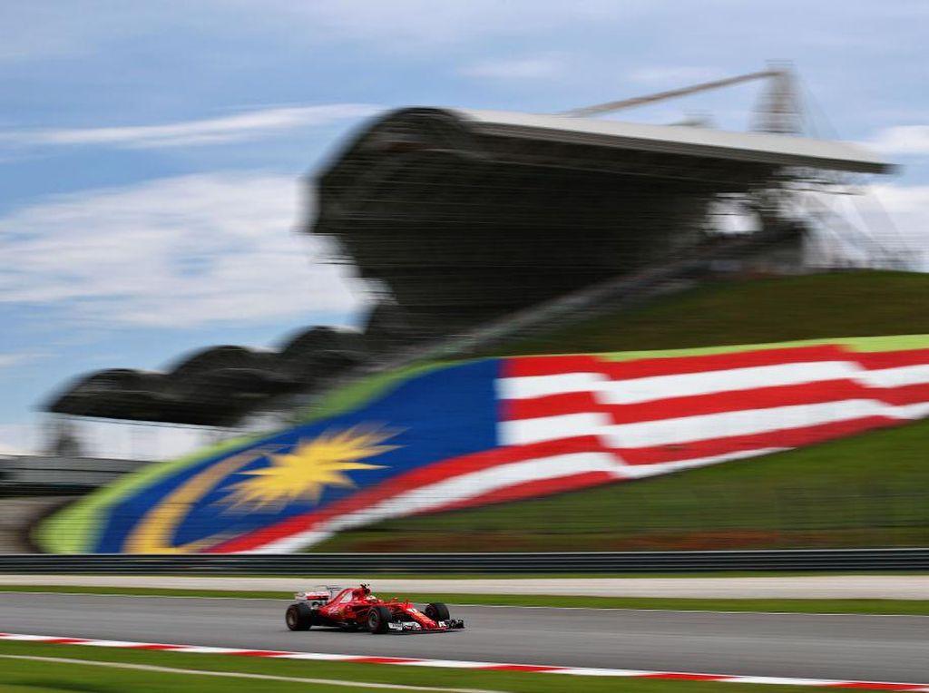 Ferrari Kuasai Latihan Bebas Ketiga, Raikkonen Tercepat