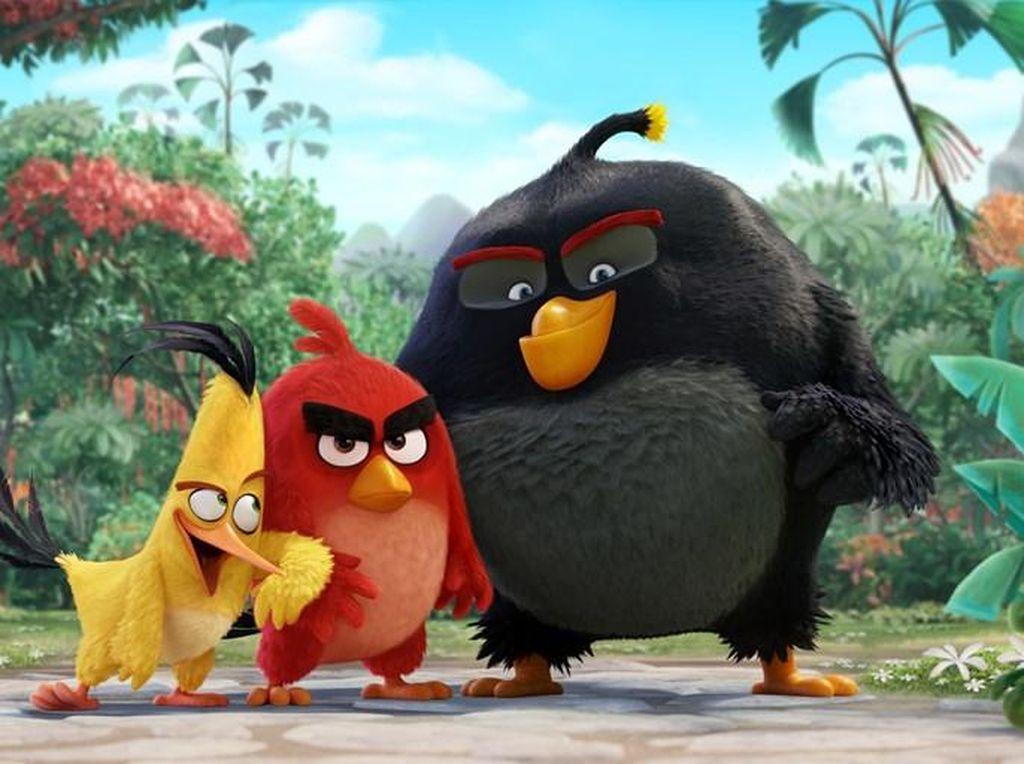 Fakta di Balik Kepopuleran Angry Birds yang Diadaptasi ke Film