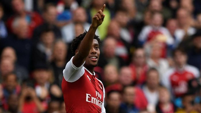 Arsenal melego Alex Iwobi ke Everton di hari terakhir bursa transfer Inggris. (Foto: Tony OBrien /Reuters)