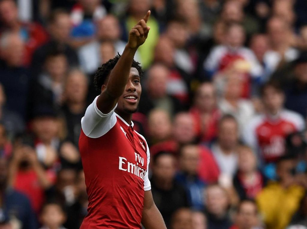 Arsenal Lepas Alex Iwobi ke Everton