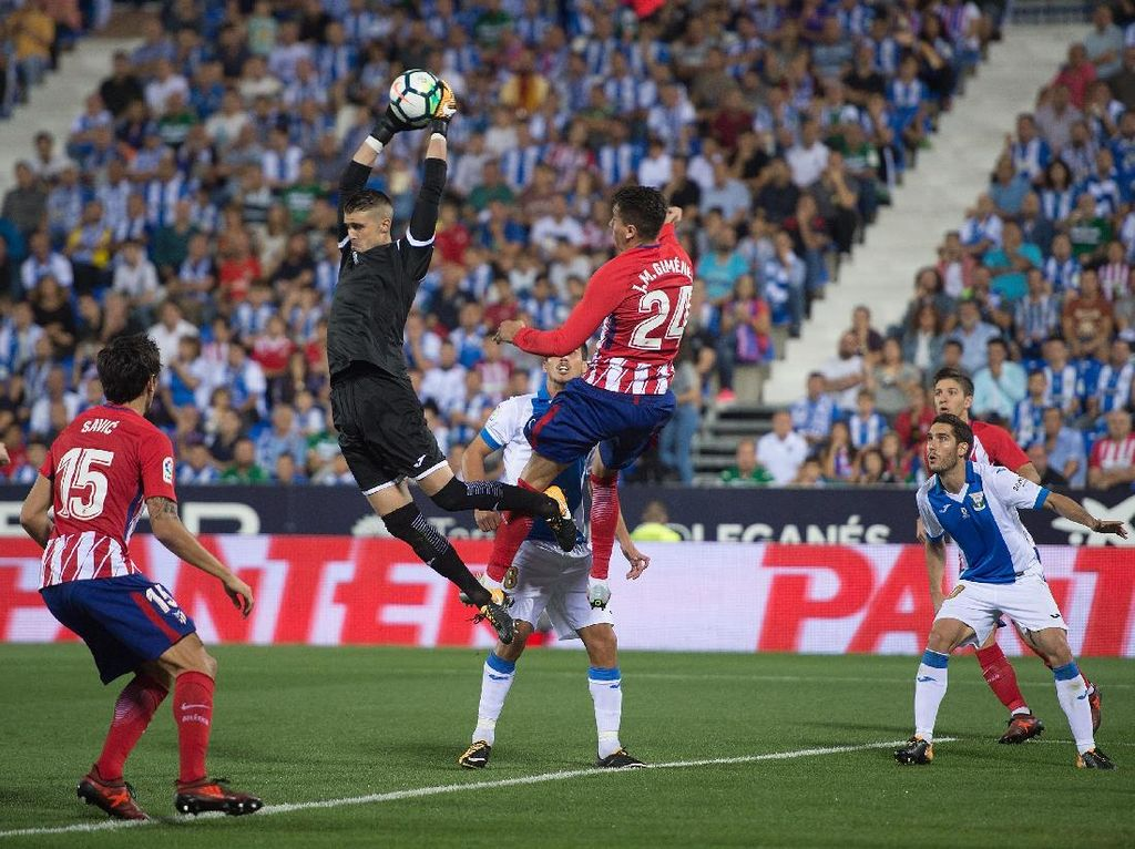 Atletico Diimbangi Leganes Tanpa Gol