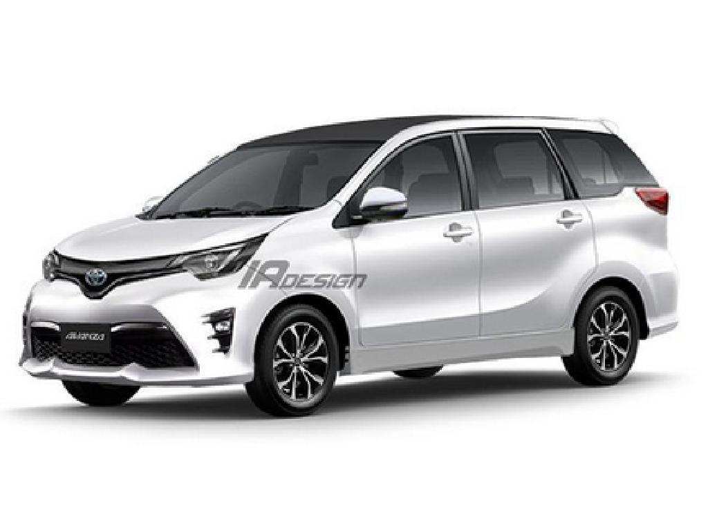Foto: Toyota Avanza dan Calya Coretan IA Design