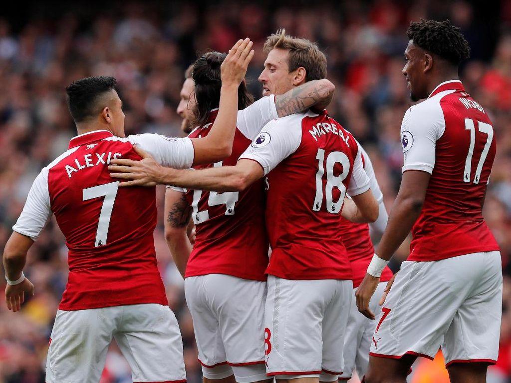 Arsenal Ungguli Brighton 1-0 Saat Turun Minum