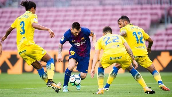 Main Tanpa Penonton, Barcelona Gasak Las Palmas 3-0