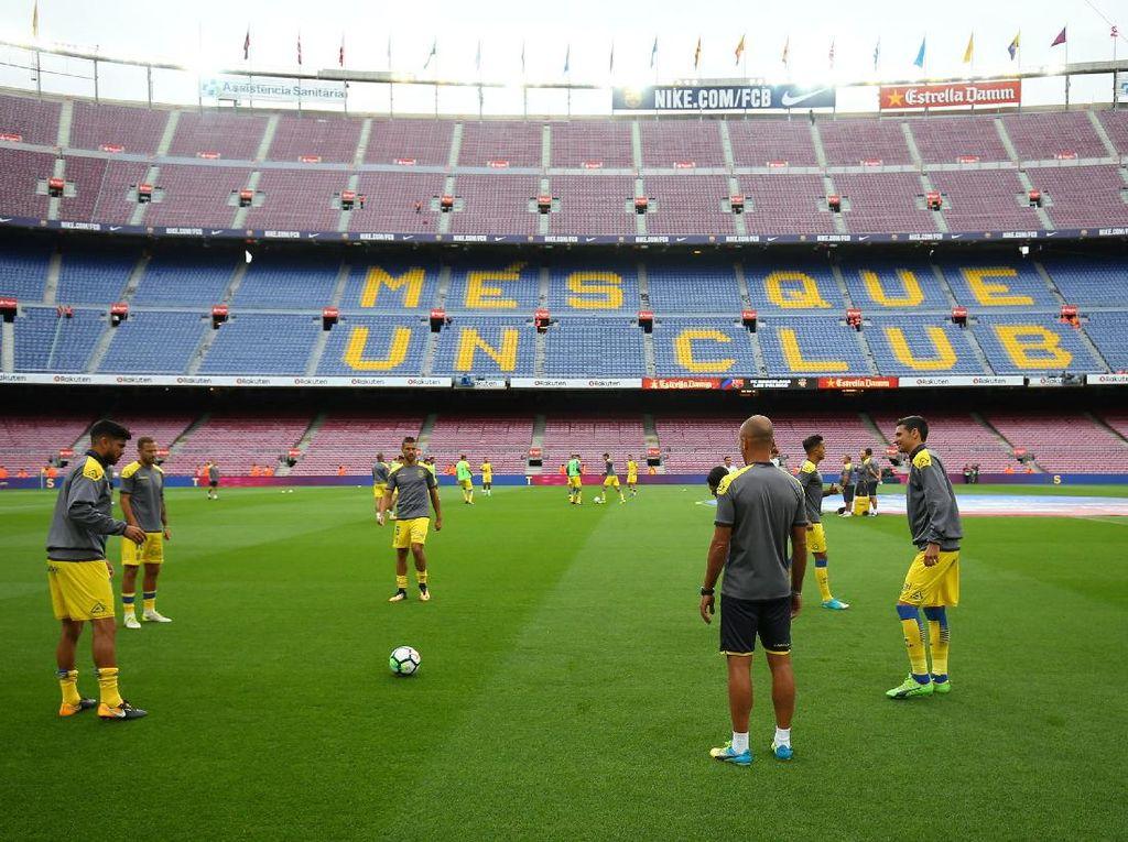 Nyaris Ditunda, Barca vs Las Palmas Akhirnya Tanding Tanpa Penonton