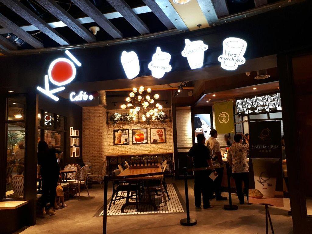 Koi Cafe, Nongkrong Asyik Sambil Nyeruput Minuman Segar