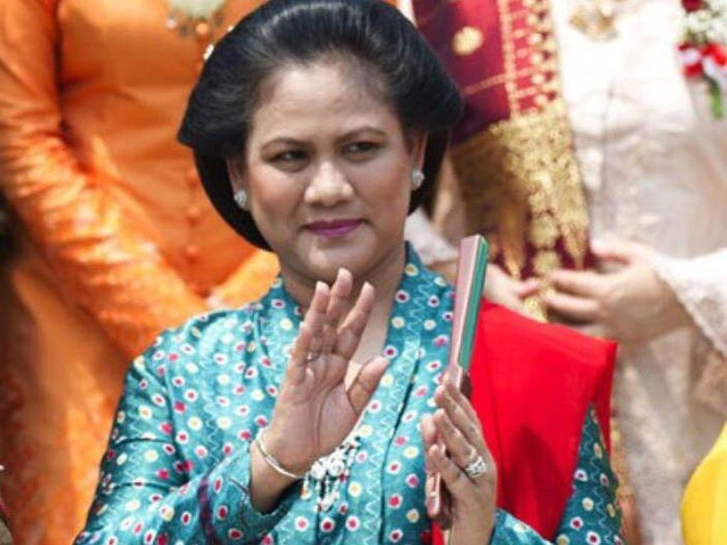 Anggun, Potret Iriana Mengenakan Kebaya Saat Mendampingi Jokowi