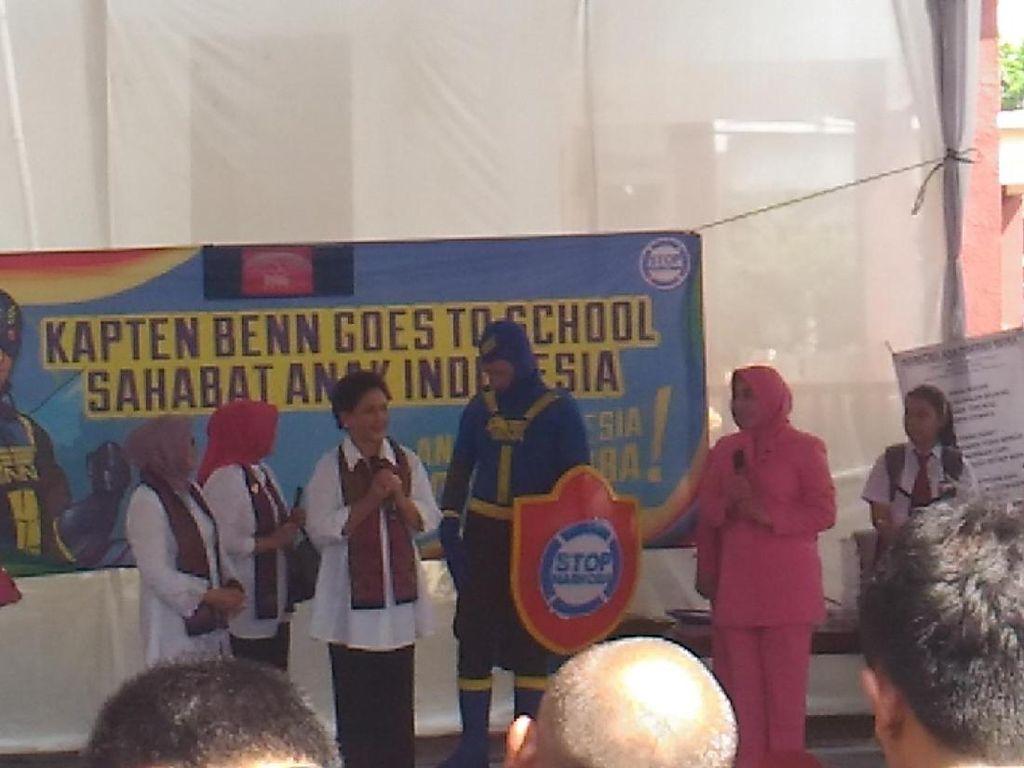 Deteksi Kanker Jadi Perhatian Iriana Jokowi di Baksos Bhayangkari