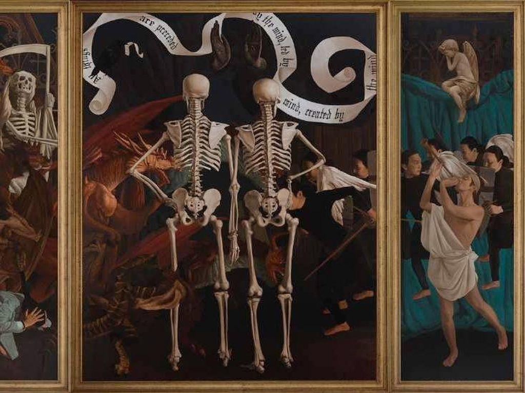 Seniman Thailand Natee Utarit Pameran Tunggal di Jakarta