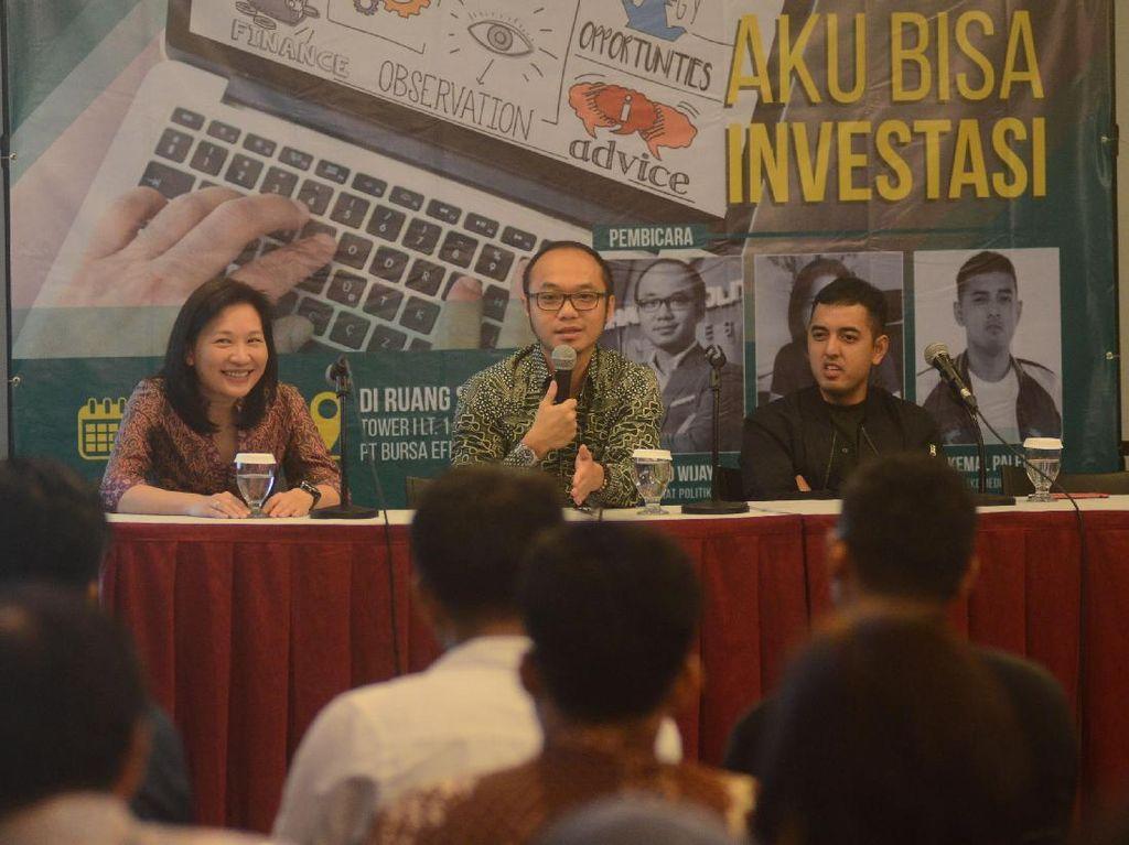 Serunya Seminar Aku Bisa Investasi