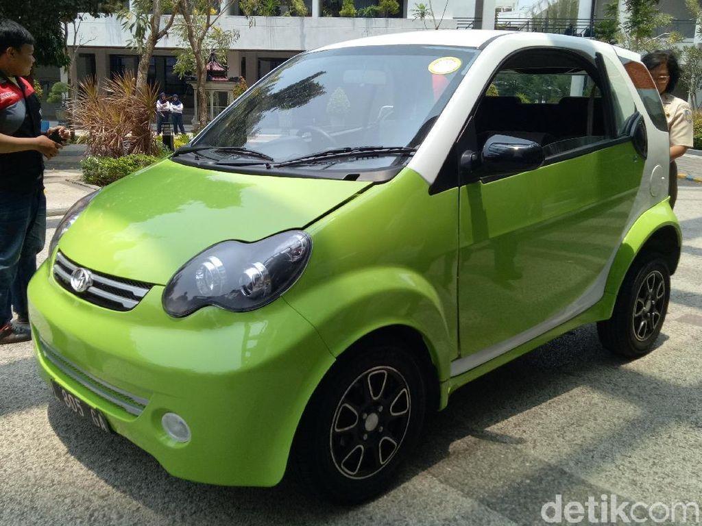Mobil Listrik Ini Namanya Smartvi, Asli Karya Anak Bangsa