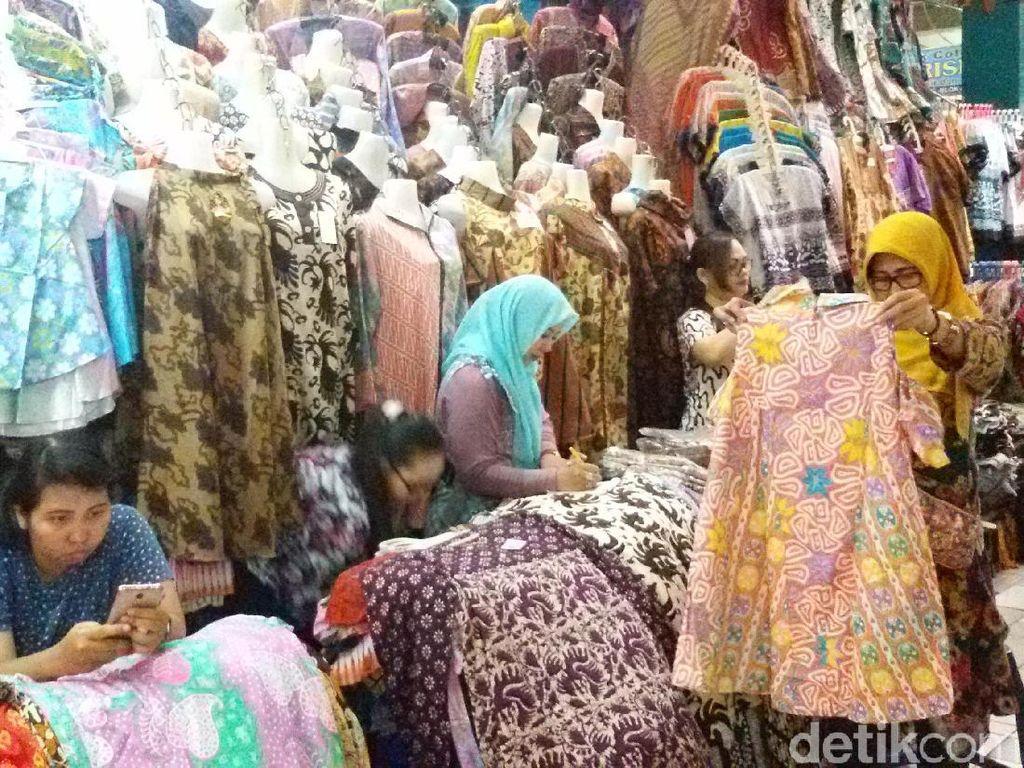 Batik Printing dan Cap Paling Banyak Diminati di Pasar Beringharjo