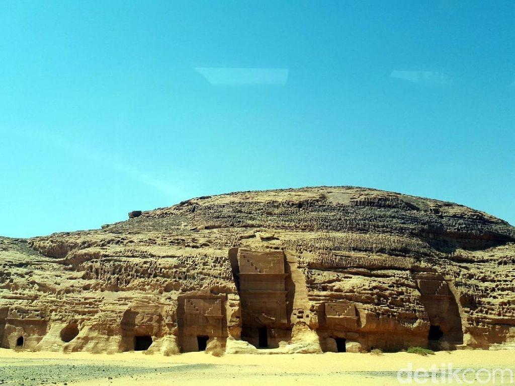 Foto: Kota Kuno di Arab Saudi yang Diazab Allah
