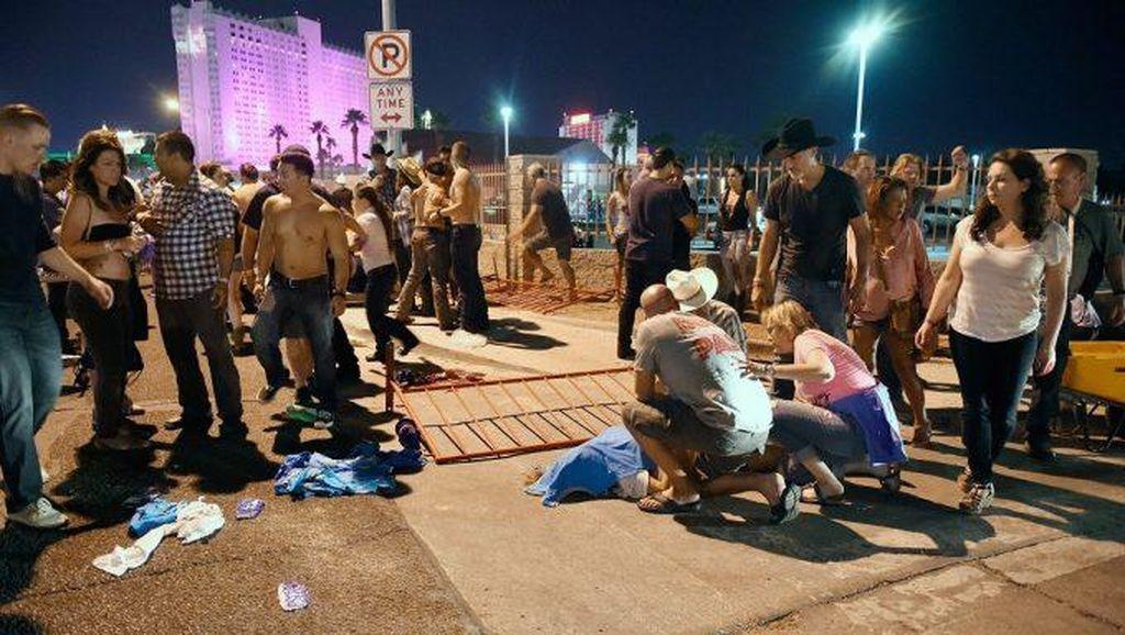 Sedikitnya 50 Orang Tewas dalam Penembakan Brutal di Las Vegas