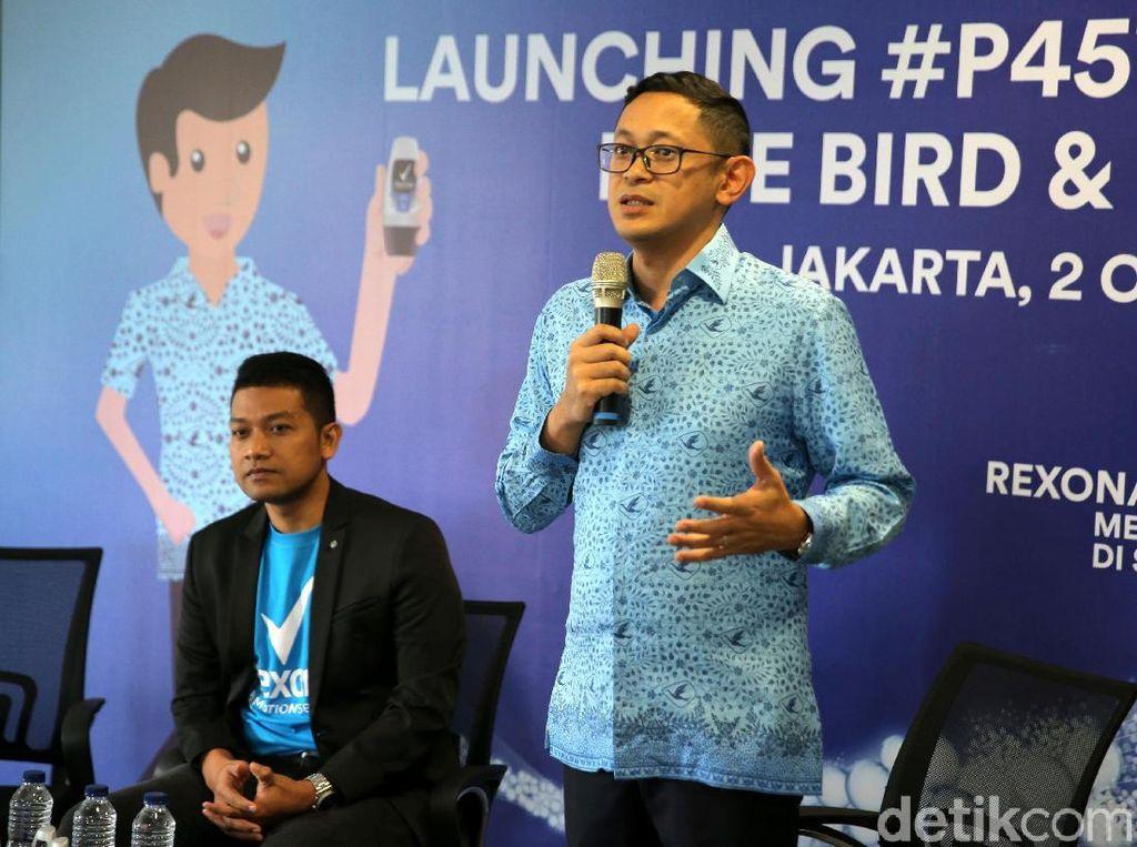Blue Bird Gandeng Unilever