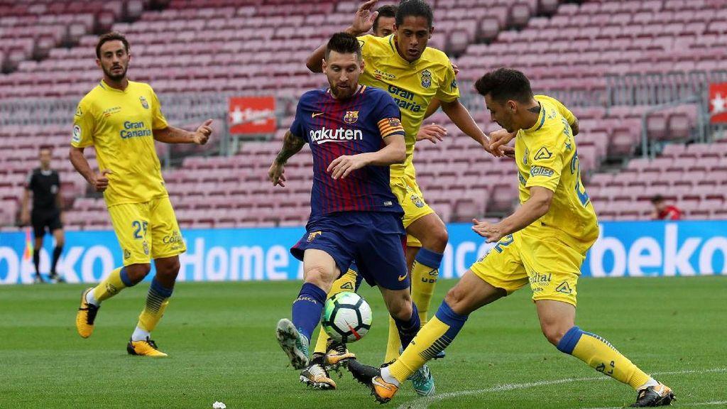 Camp Nou yang Sunyi Jadi Saksi Kemenangan Barcelona