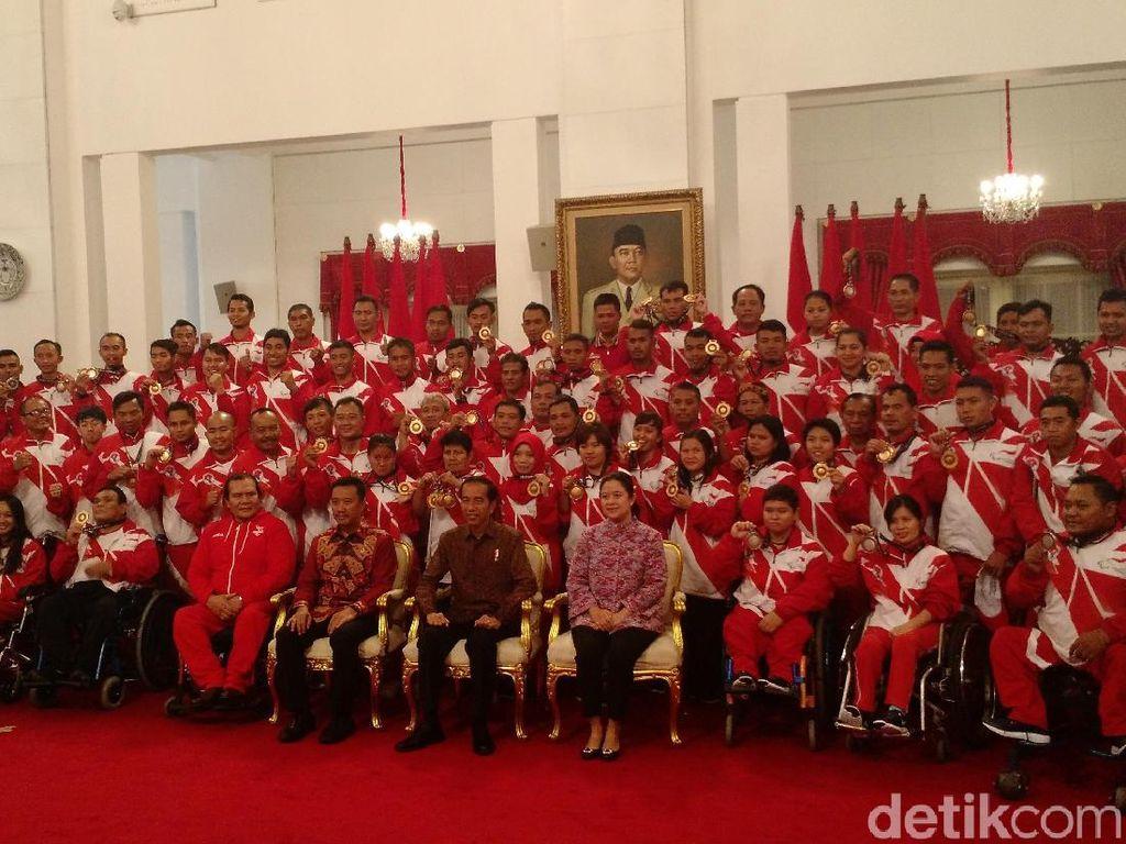 Canda Jokowi Kepada Atlet ASEAN Para Games: Catur Olahraga Terberat