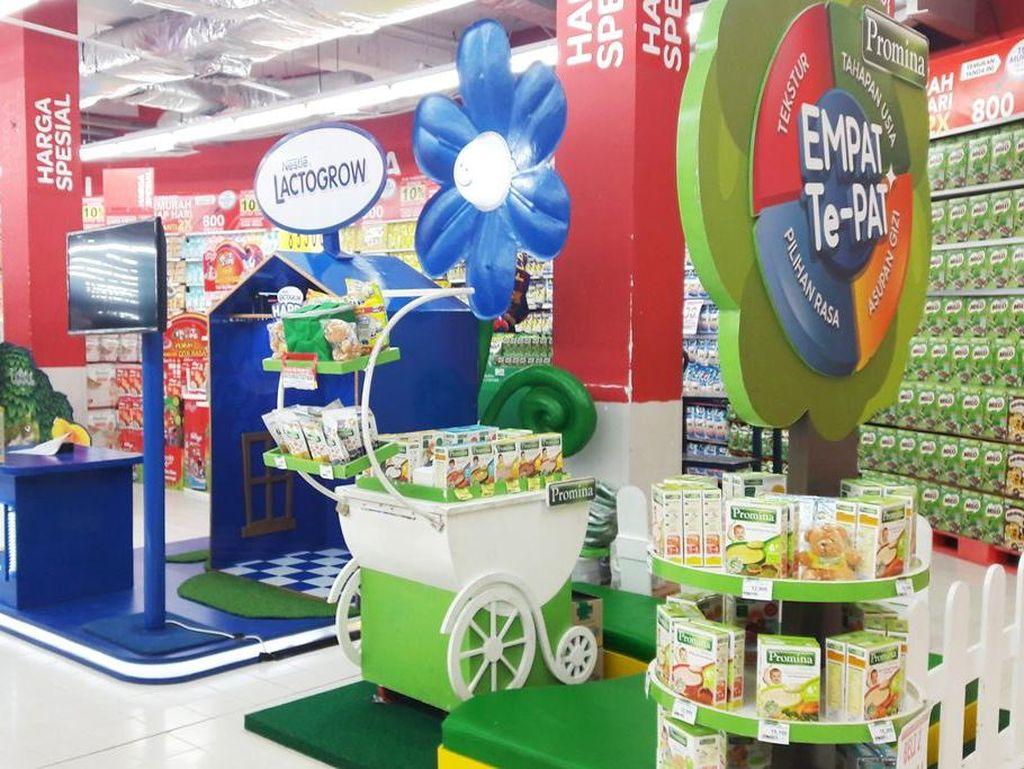 Promo Makanan Pendamping ASI di Baby Fair Transmart Carrefour