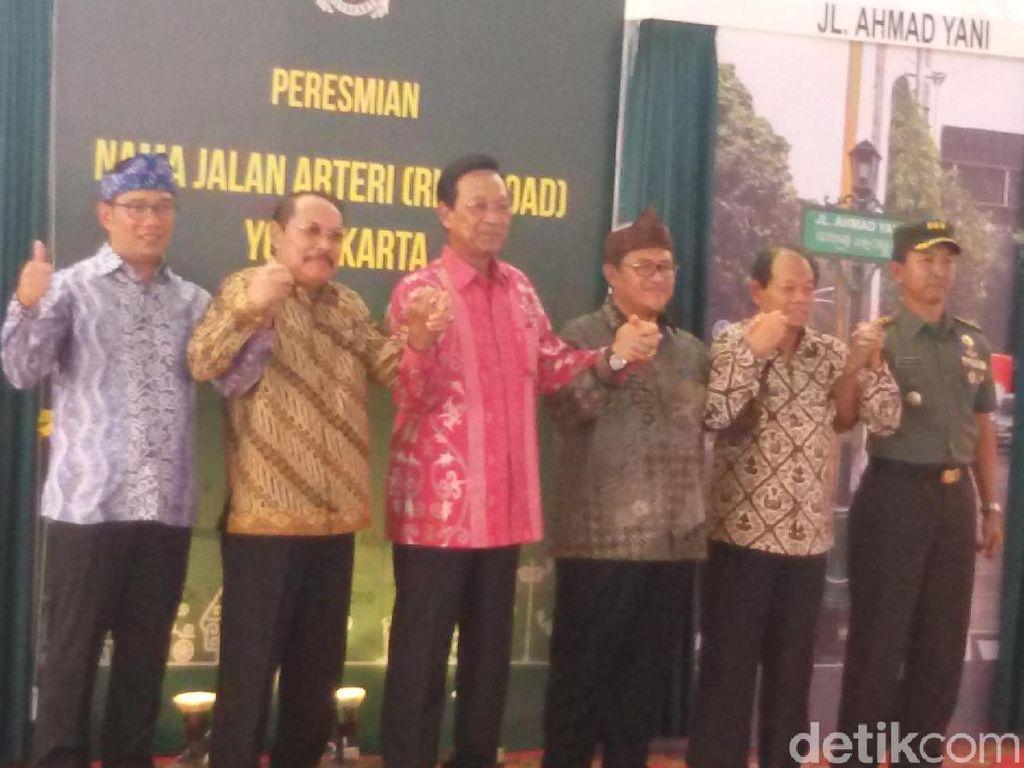 Sultan HB X Serahkan Pelantikan kepada Presiden