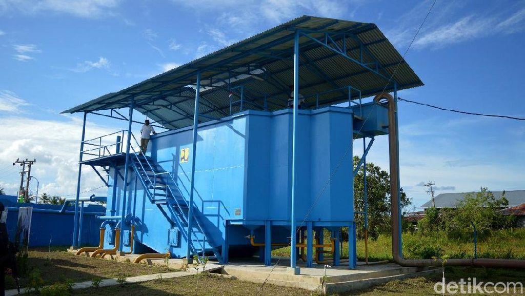 Mengintip Pengolahan Air Minum di Tanjung Selor