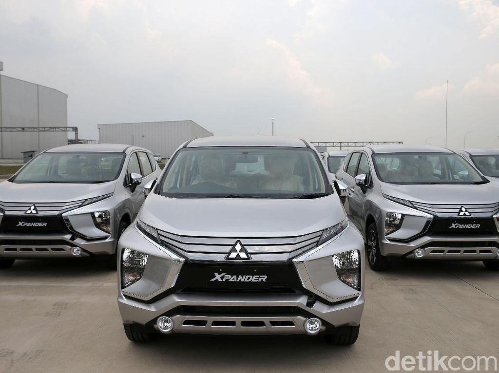 Foto: Mitsubishi Xpander Siap Dikirim