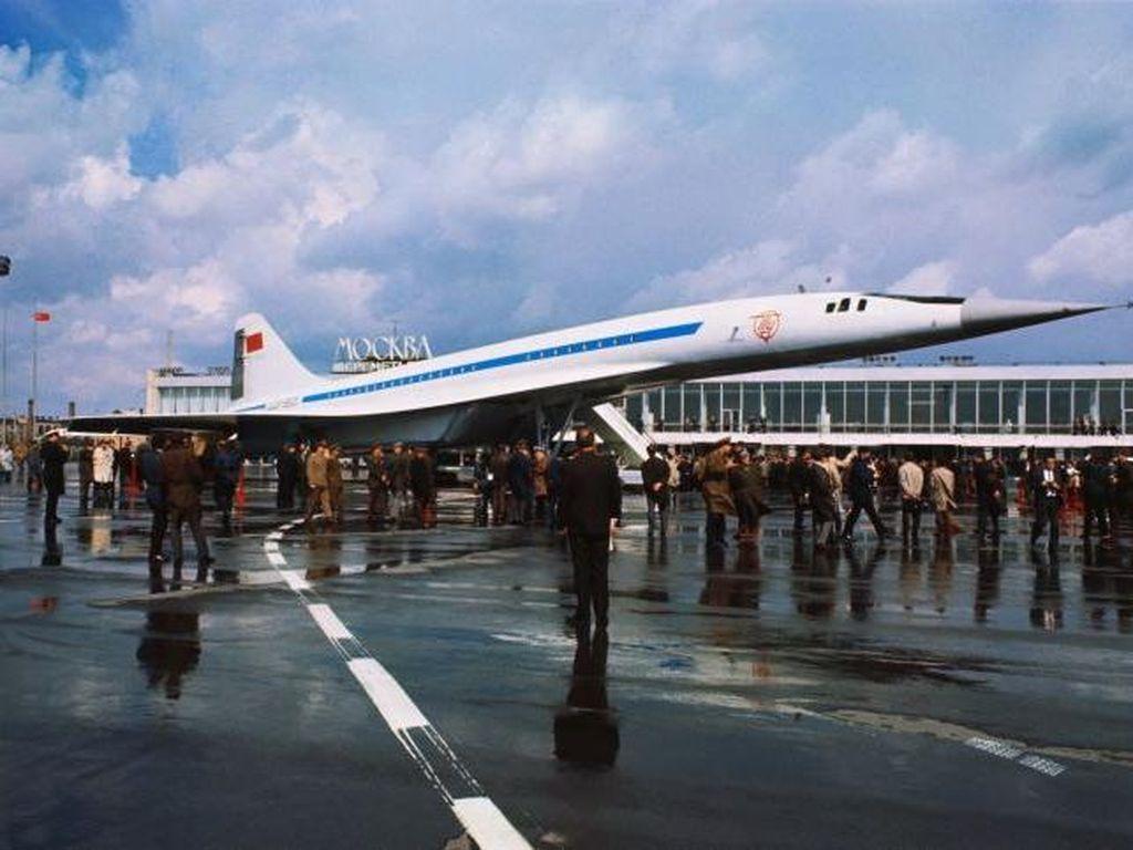 Akhir Tragis Pesawat Jet Saingan Concorde