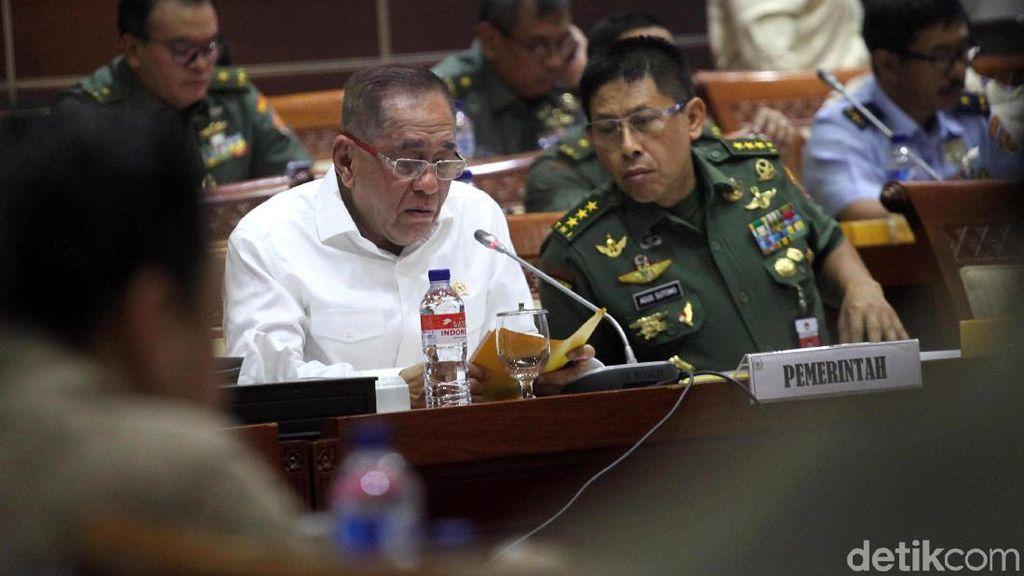 Menhan dan DPR Bahas Rencana Perjanjian Pertahanan dengan Papua Nugini