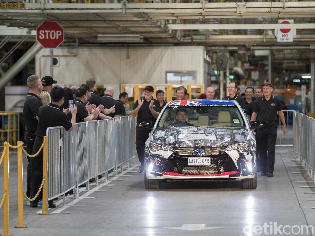 Foto: Mobil Toyota Terakhir dari Benua Kanguru