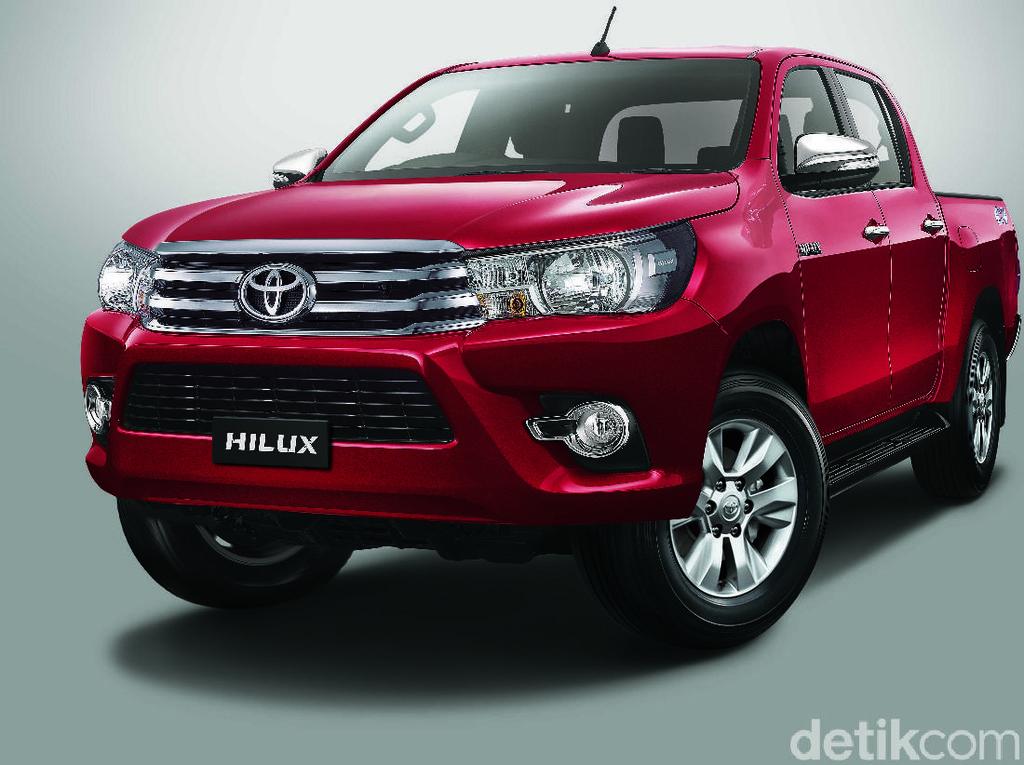 Toyota Segarkan Hilux, Mesin Diganti