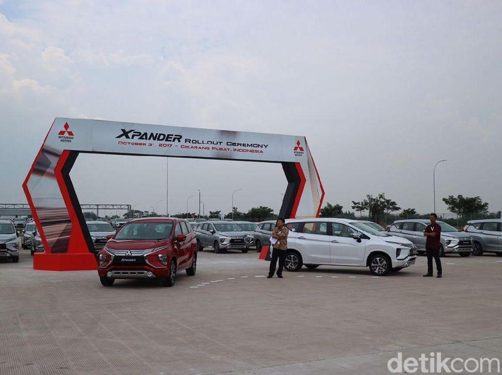 Mitsubishi Siap Kirim Xpander ke Konsumen