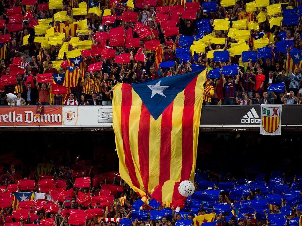 Spanyol Keluarkan Perintah Penangkapan Pemimpin Catalonia