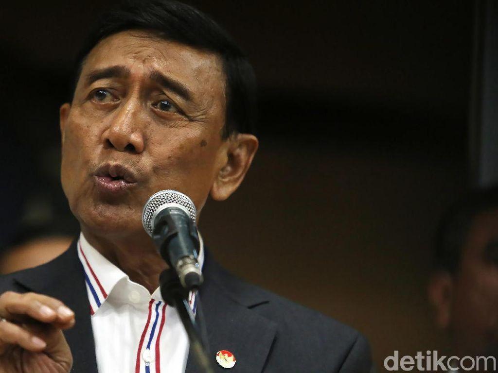 Wiranto akan Tetap Panggil Panglima dan Kapolri Bahas Senjata SAGL