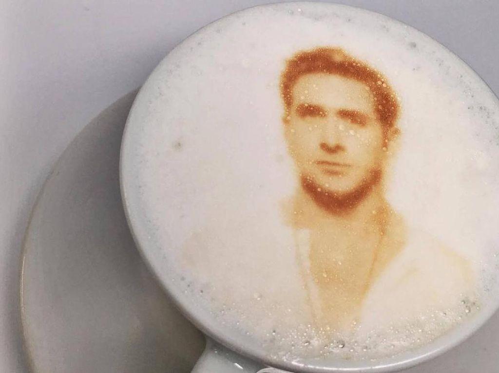 Keren! Ini 12 Wajah Selebriti Dunia Dalam Latte Art yang Artistik