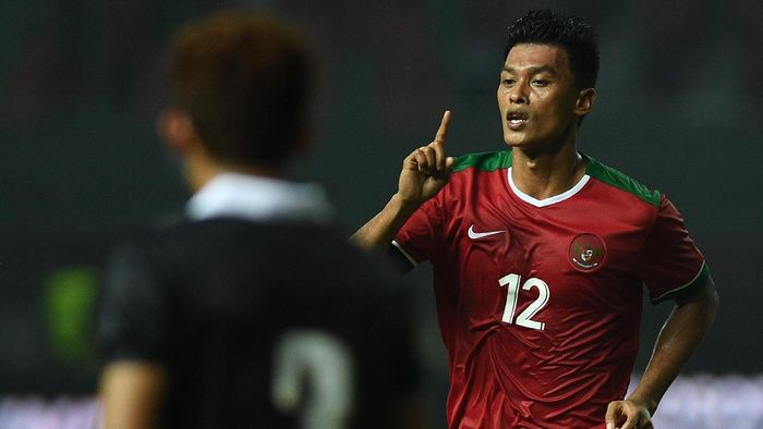 Lerby Eliandri memprediksi laga Timnas Indonesia vs Malaysia sengit. (Sigid Kurniawan/ANTARA FOTO)