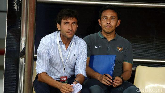 Bima Sakti direkomendasikan menjadi pelatih Timnas U-19 oleh Luis Milla (Rengga Sancaya)