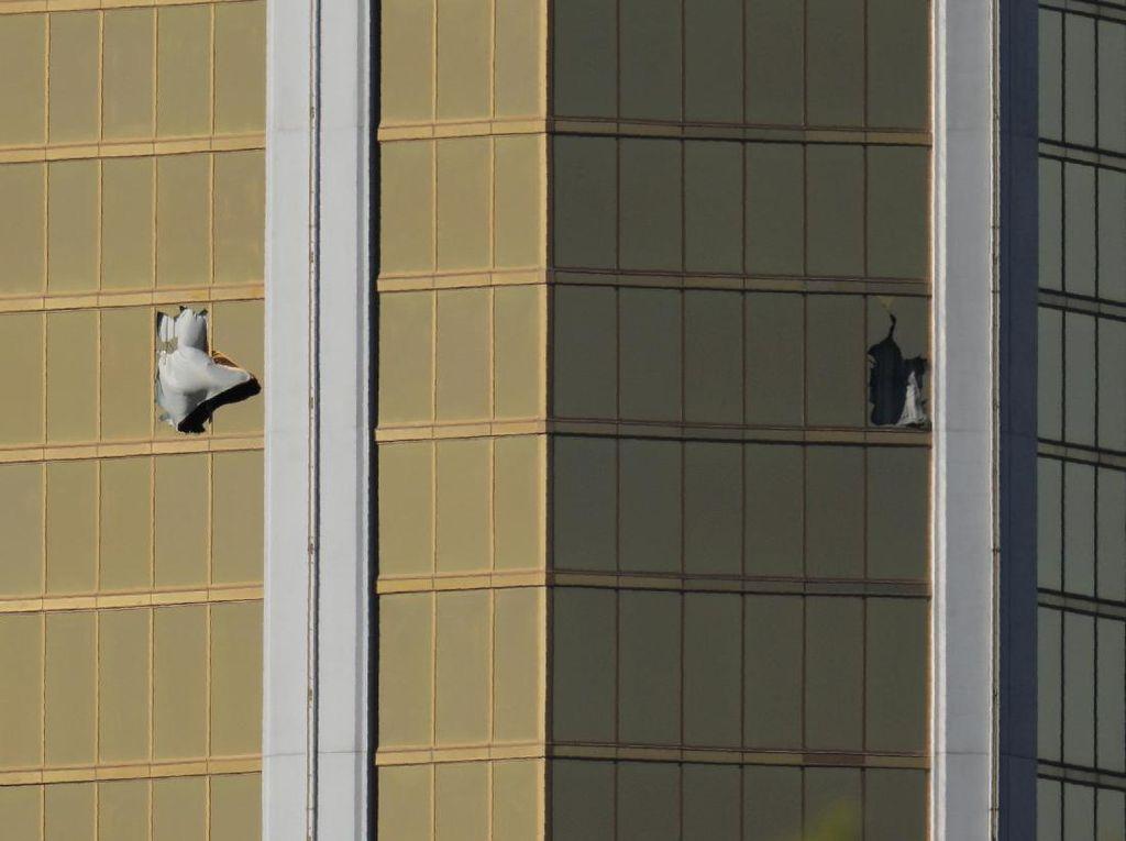 Penembak Las Vegas Tinggalkan Catatan Soal Jarak dan Arah Peluru