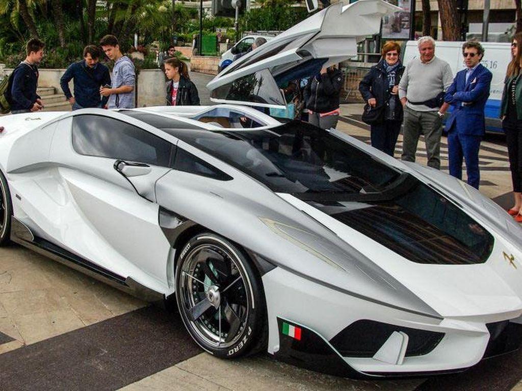 Mobil Sport Unik Muncul di Monako, Mirip Lambo