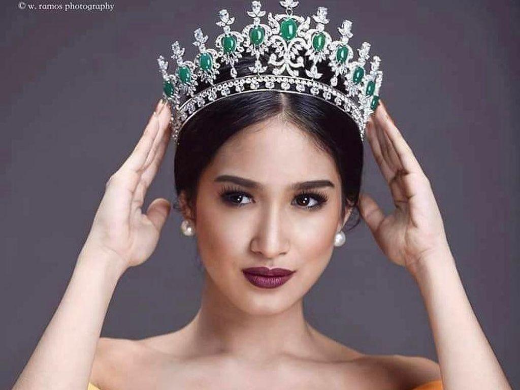Cantiknya Miss Myanmar yang Dicabut Gelarnya karena Video Rohingya